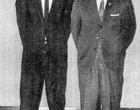 Shihan Tsurouka and O'Sensei Chitose
